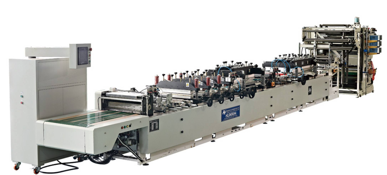 The Three-side Sealing Bag Machine