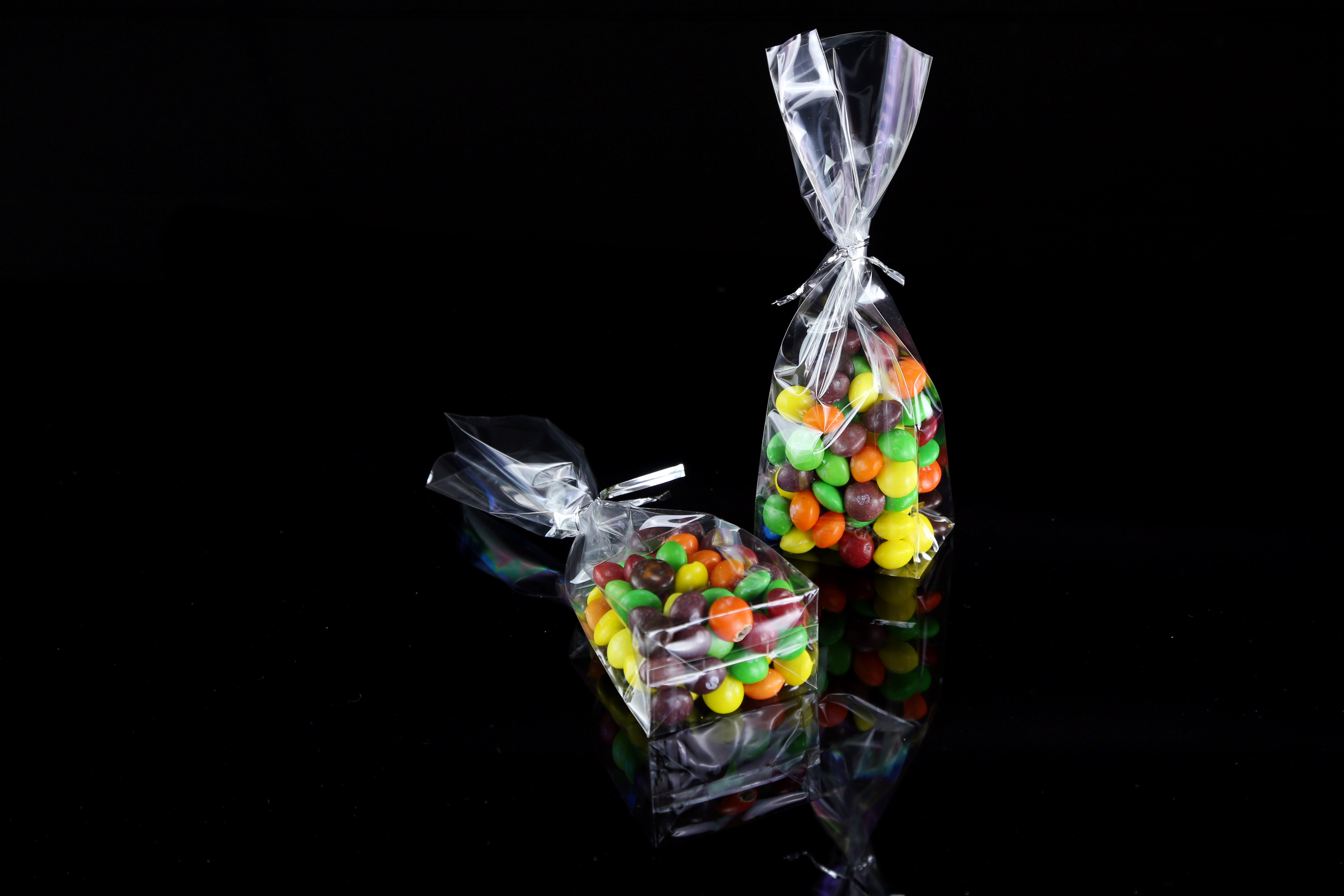 Cellophane candy bags