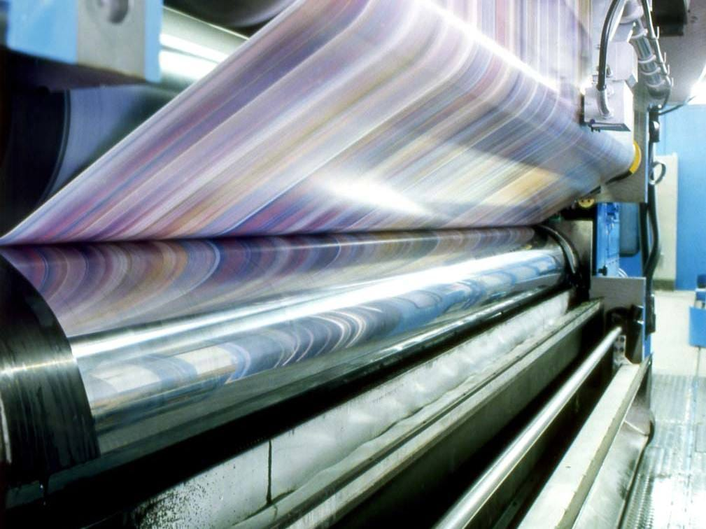 What is the best viscosity of the ink during gravure printing?