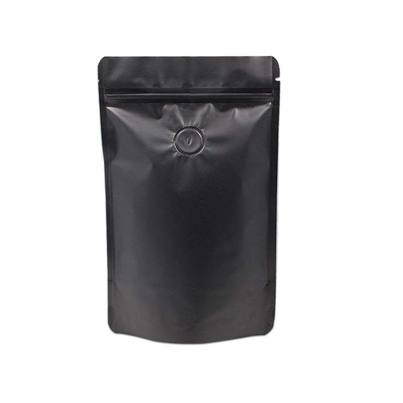 Why should the valve be installed on the aluminum foil coffee bag?