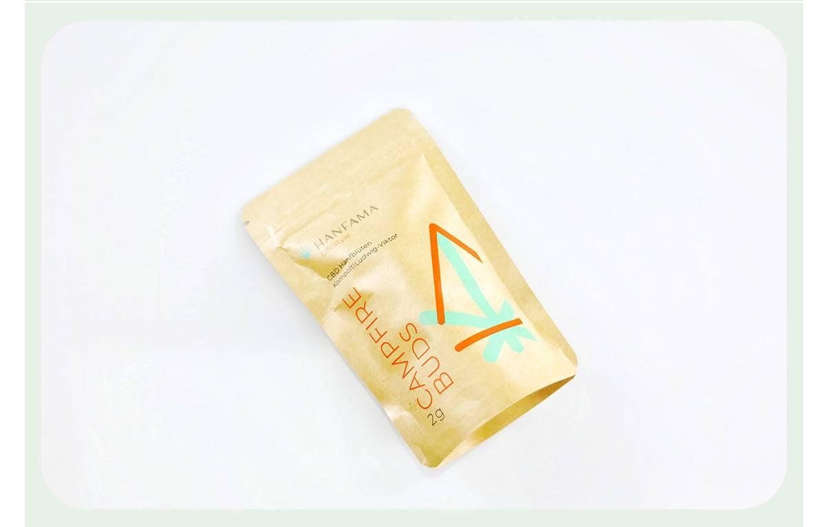 Brown Kraft Ziplock Bags