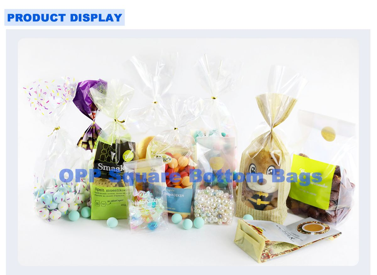 Opp Cellophane Confectionery Bags