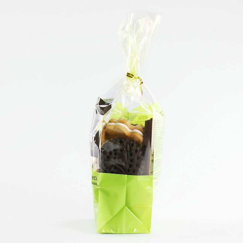 Opp Food Grade  Clear Plastic Cookies Packing Bags