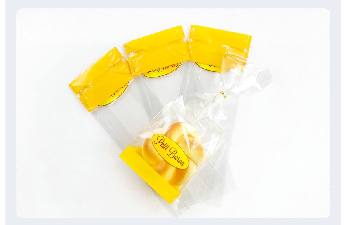 Clear Plastic Bread Bags