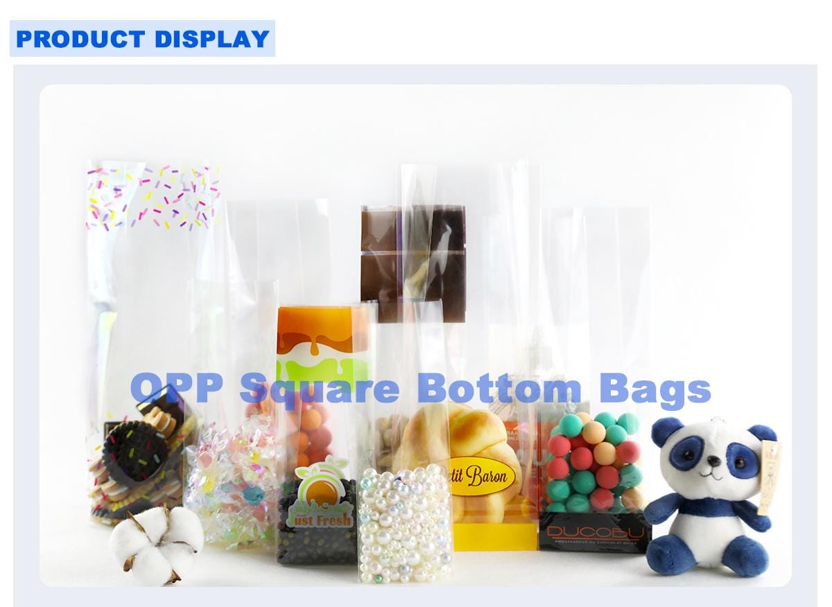 Opp Transparent Candy Bags Collection