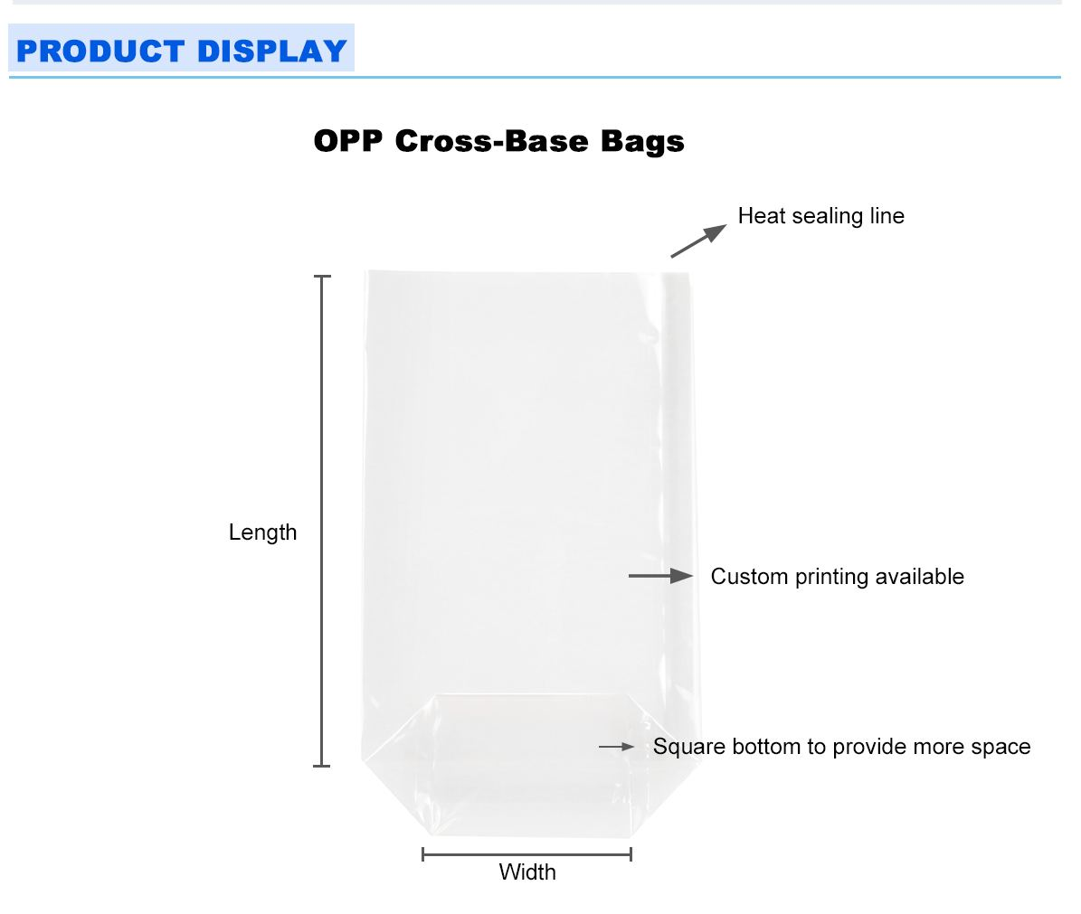 Cello Packaging Bags