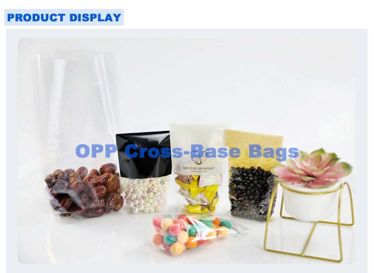 Clear Cellophane Food Bags