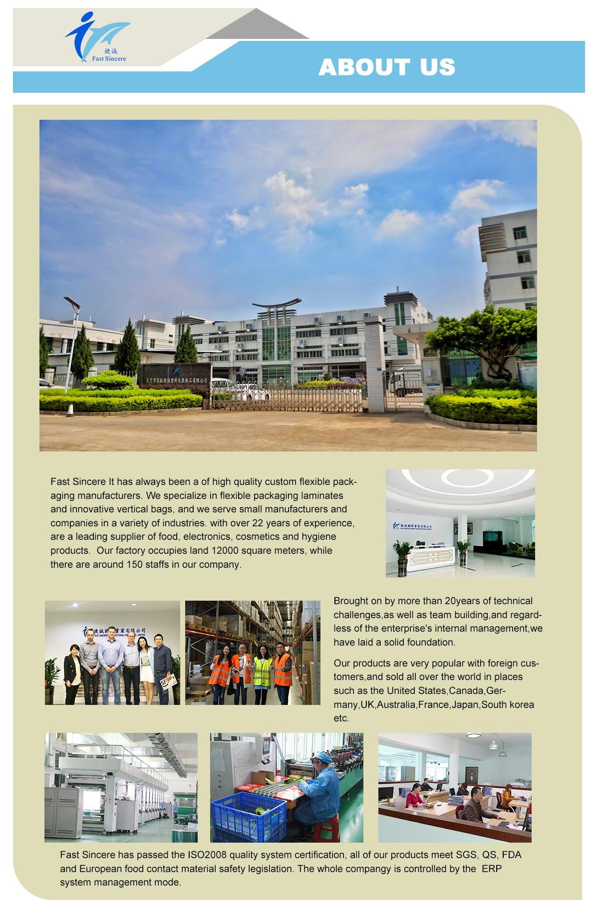 Fast Sincere Company Profile