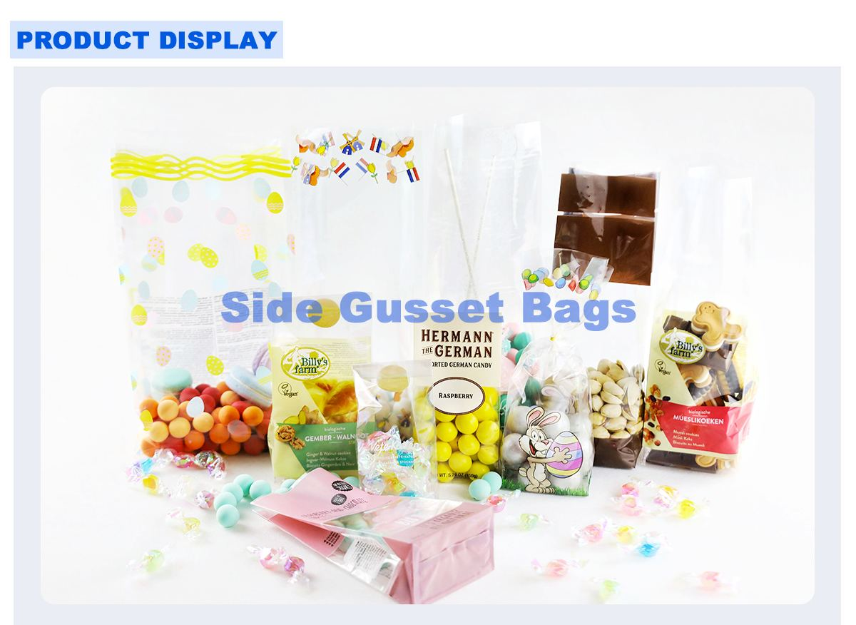 Gusseted Cello Bags