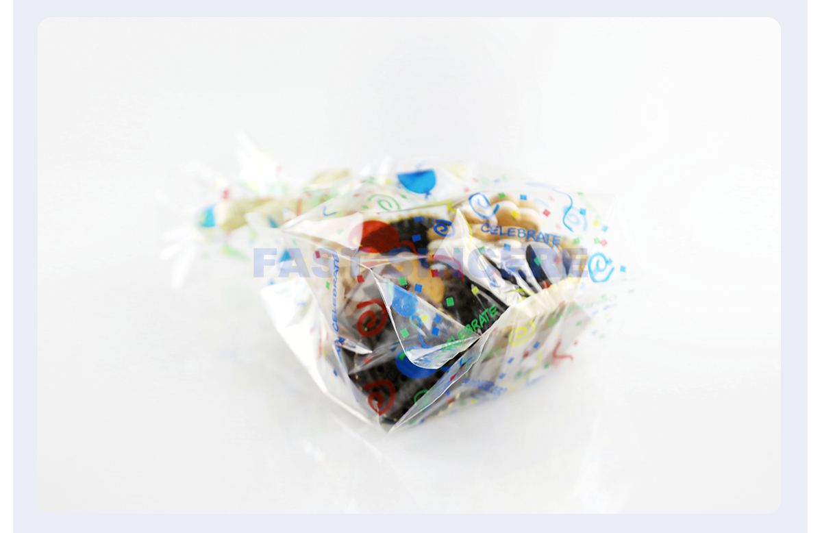 Gusseted Plastic Bags