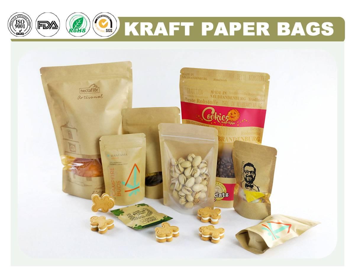 Kraft Food Bags
