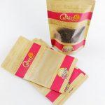 Kraft Paper Coffee Bags Custom Printed