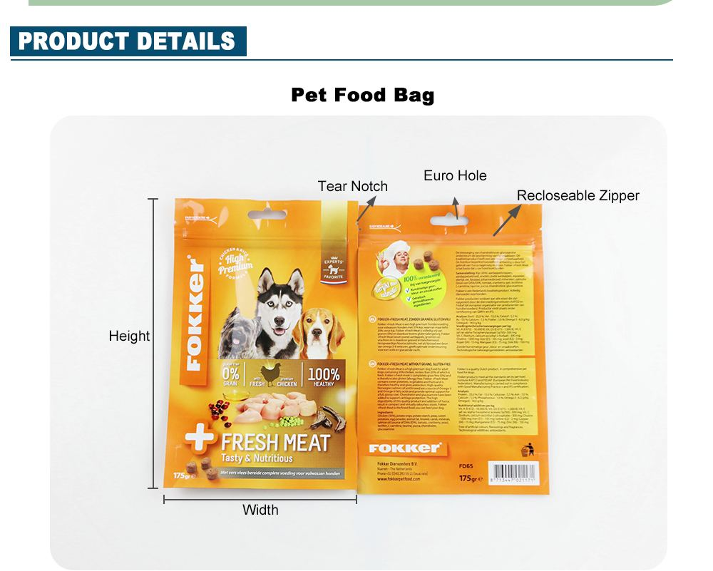 Puppy Food Pouches