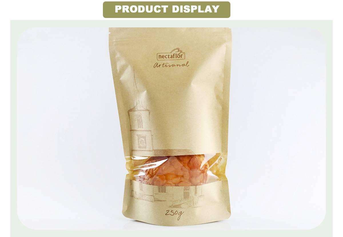 Resealable Kraft Paper Bags