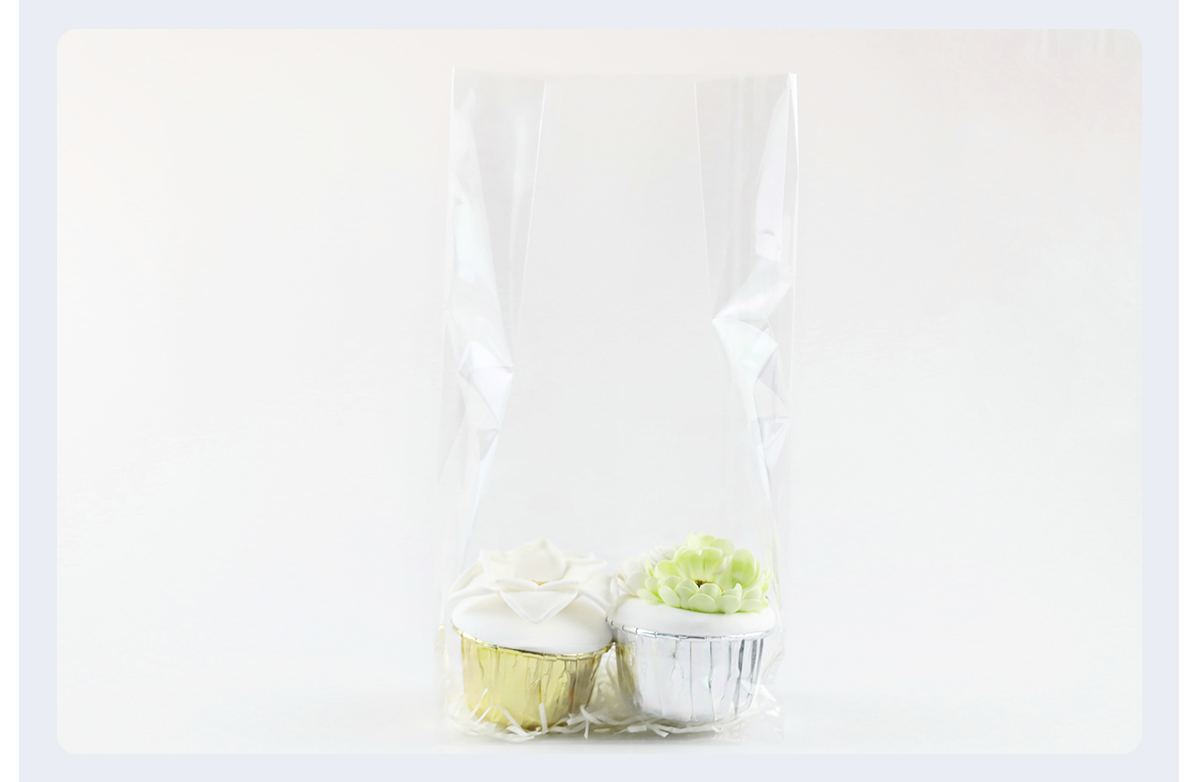 Small Cellophane Cookie Bags