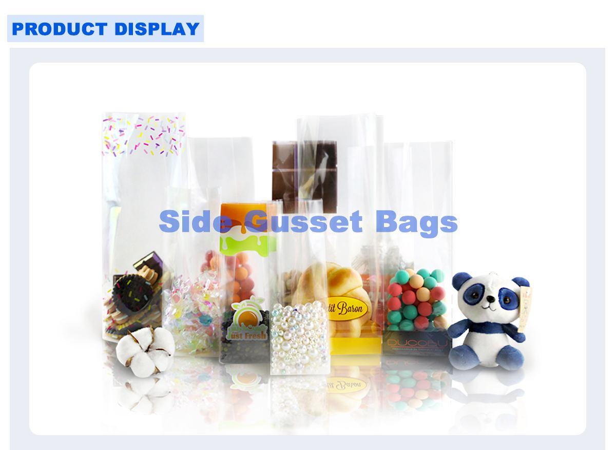 Square Bottom Cellophane Bags