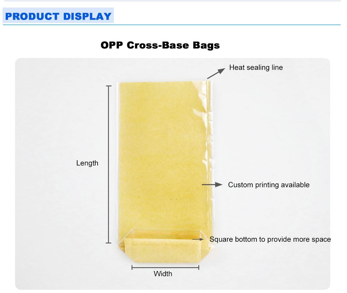 Transparent Food Packaging Bags