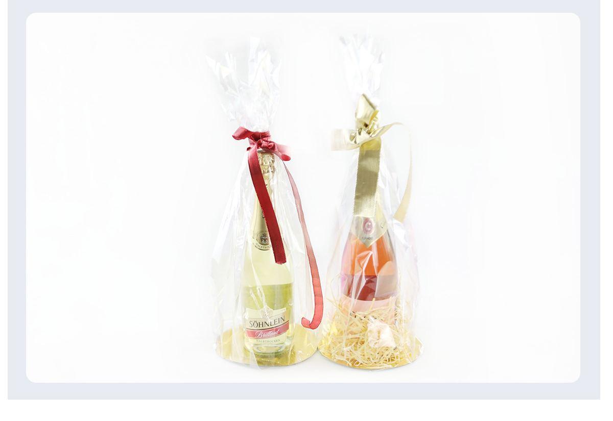 Cellophane Wine Bag
