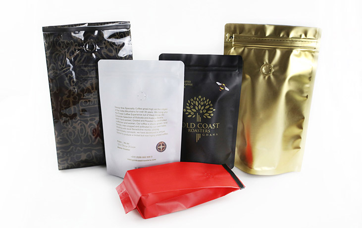 Custom Coffee Bags Process