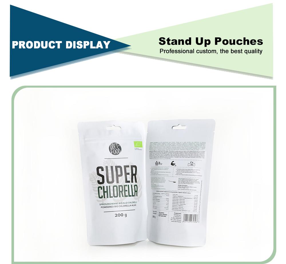 Custom Doypack Zipper Bags Wholesale