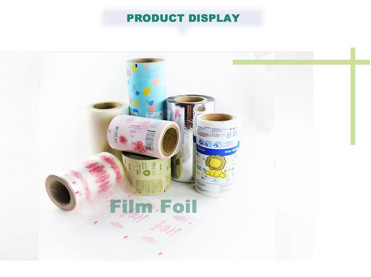 Custom Printed Plastic Rolls Wholesale