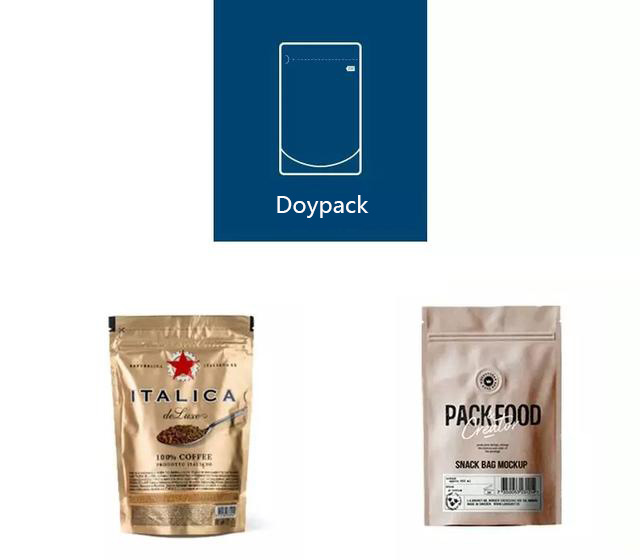 Doypack, It is three-dimensional and can stand