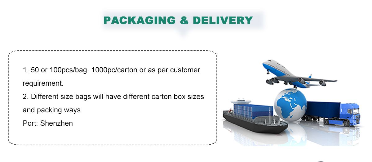 Custom Printed Plastic Rolls Wholesale Packaging and delivery