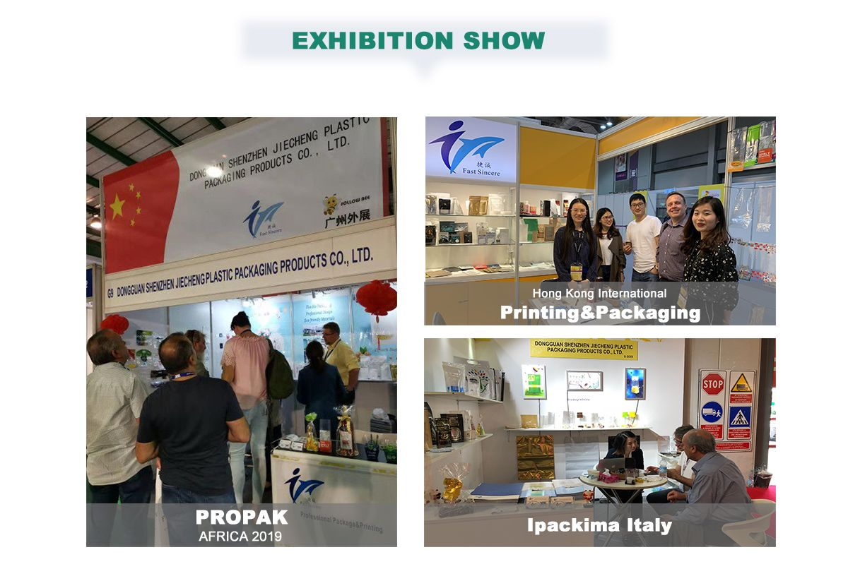 Custom Printed Plastic Rolls Wholesale Manufacturers Attend the Exhibition