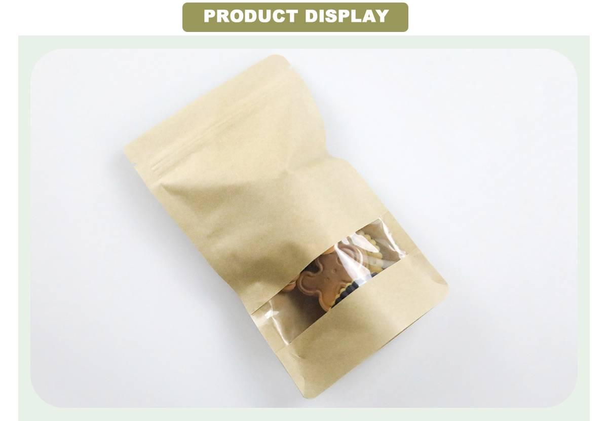 Kraft Bags With Window