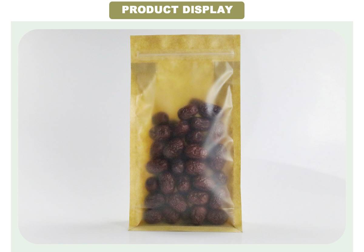 Kraft Paper Bags With Window