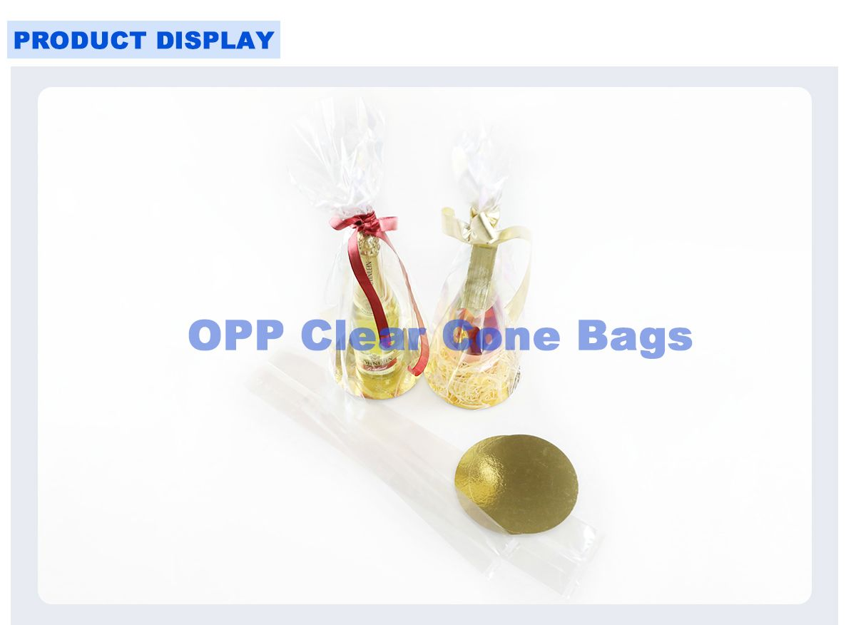 Opp Transparent Cellophane Gift Wrap Bags