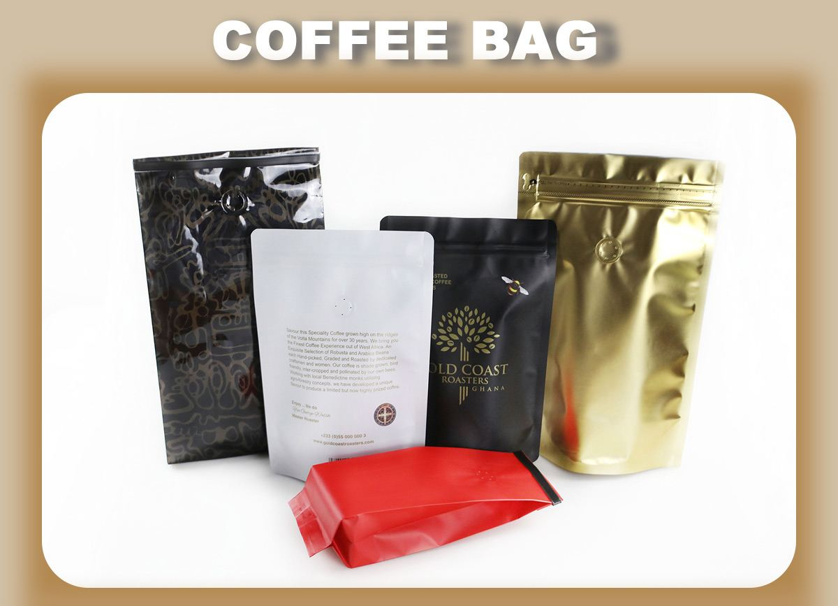 Ziplock Coffee Bags