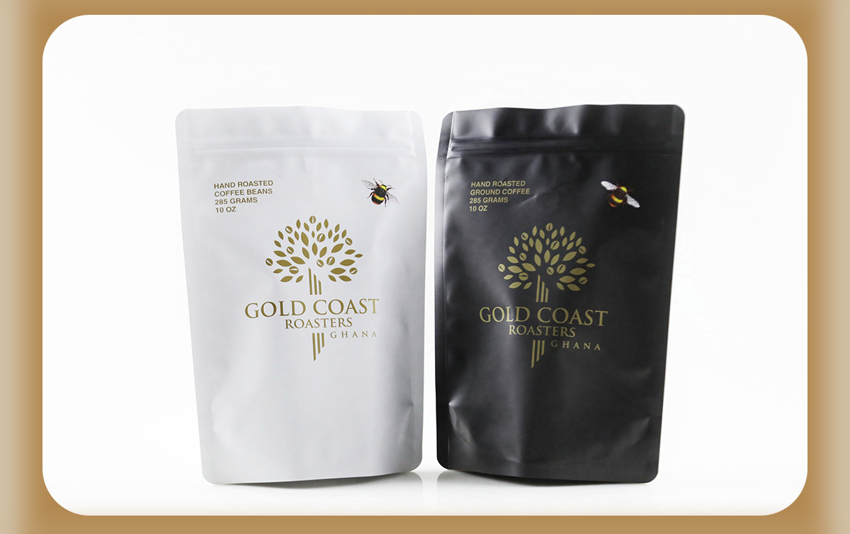 Stand Up Coffee Pouches
