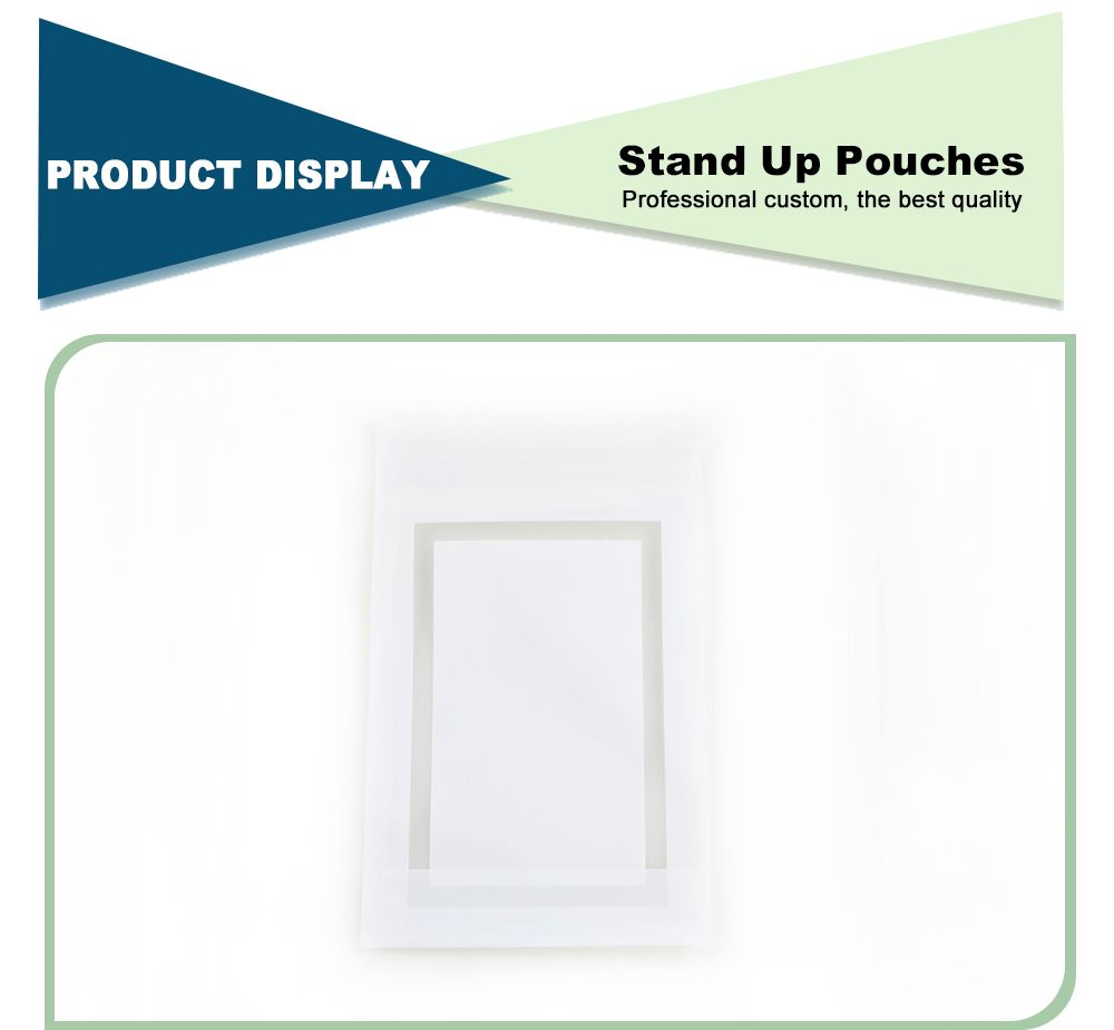 White Stand Up Pouches Wholesale