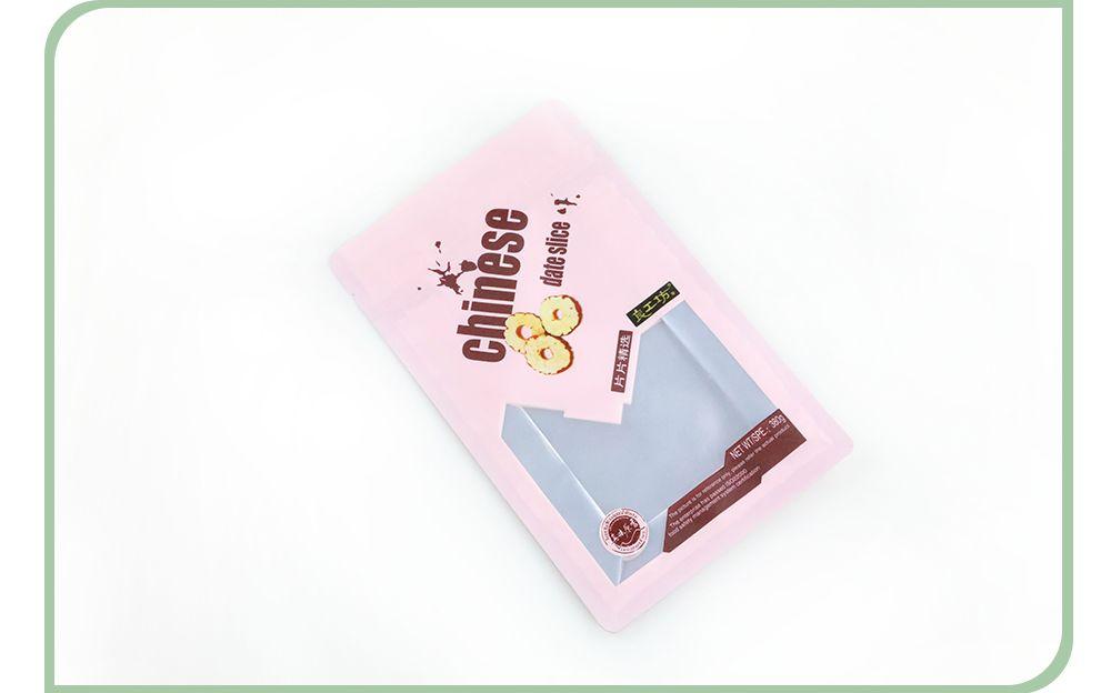 Wholesale Resealable Zipper Pouch Gusset Bags