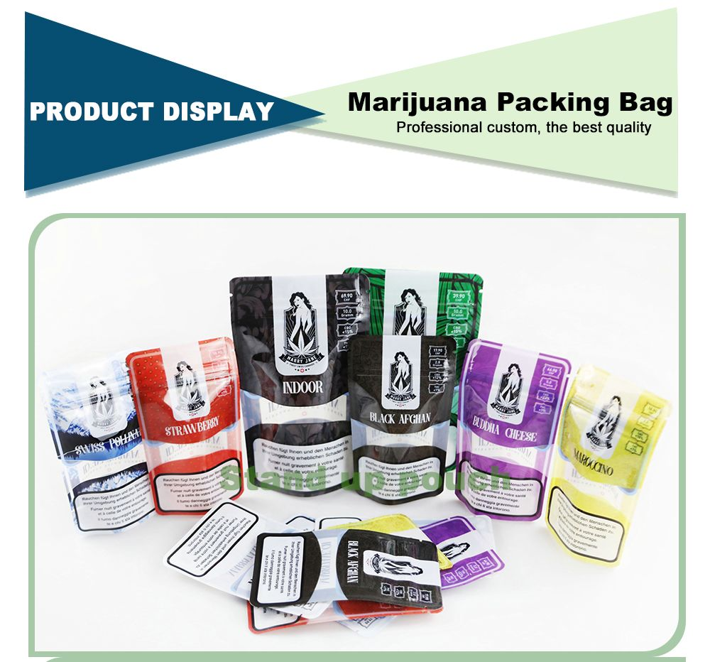 Stand Up Resealable Bags Wholesale Custom