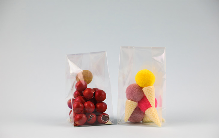 Opp pouches for food packaging bag