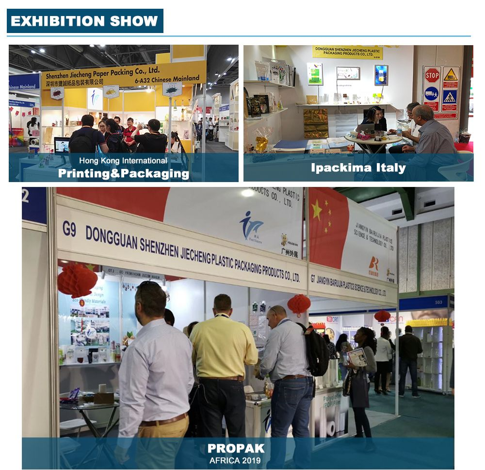 Stand Up Resealable Bags Manufacturers Attend the Exhibition