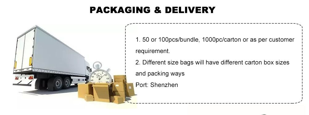 Wholesale Smell Proof Bags Packaging and delivery