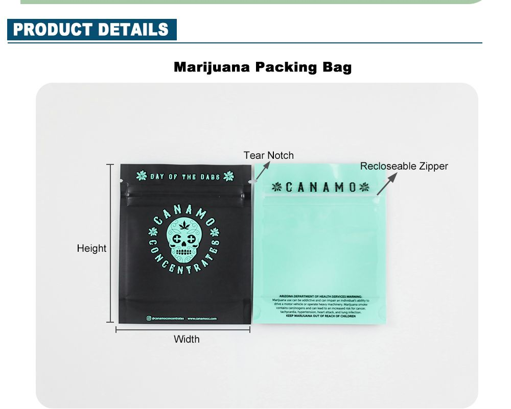 Smell Proof Bags Wholesale Custom