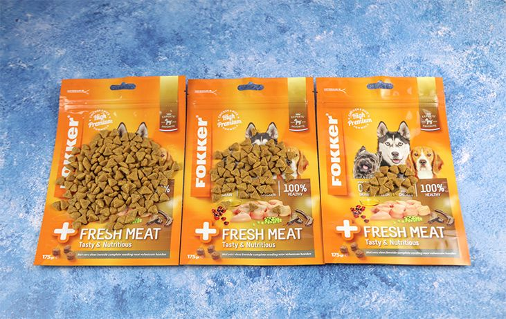 The importance of sealing the pet food pouches