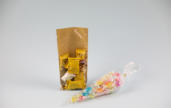 What should we consider when selecting pouches for food packaging