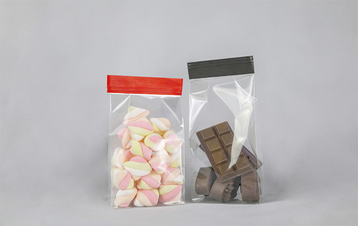 Use of OPP packaging