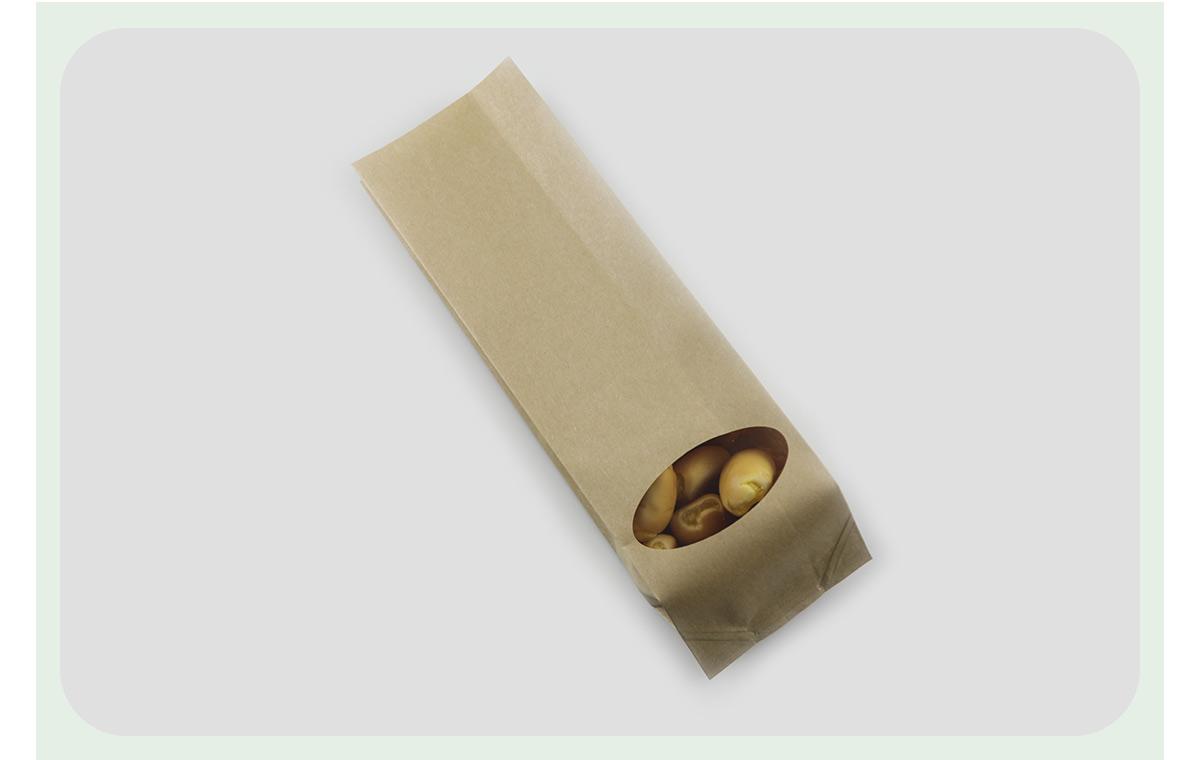 Wholesale Kraft Paper Food Bags