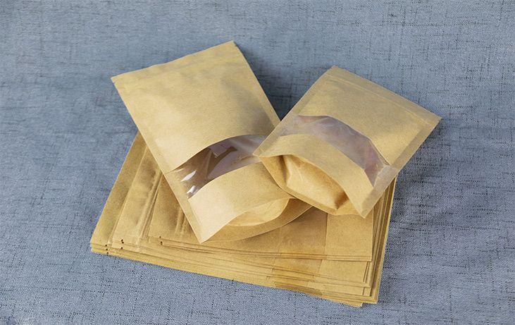 kraft paper pouch
